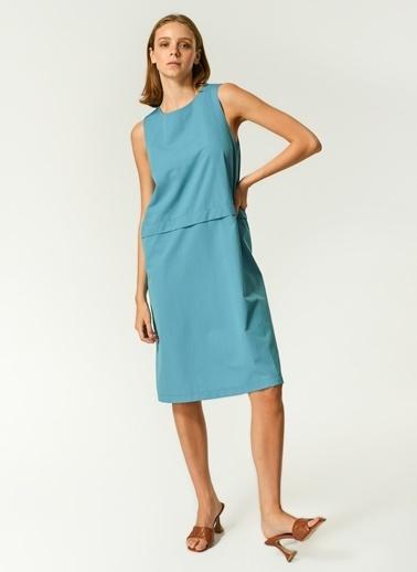 NGSTYLE NGSTYLE Kadın Kolsuz Günlük Elbise Mavi